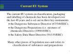 current eu system