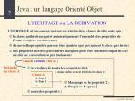 java un langage orient objet1