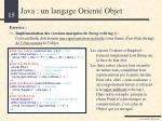 java un langage orient objet11