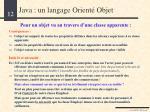 java un langage orient objet8