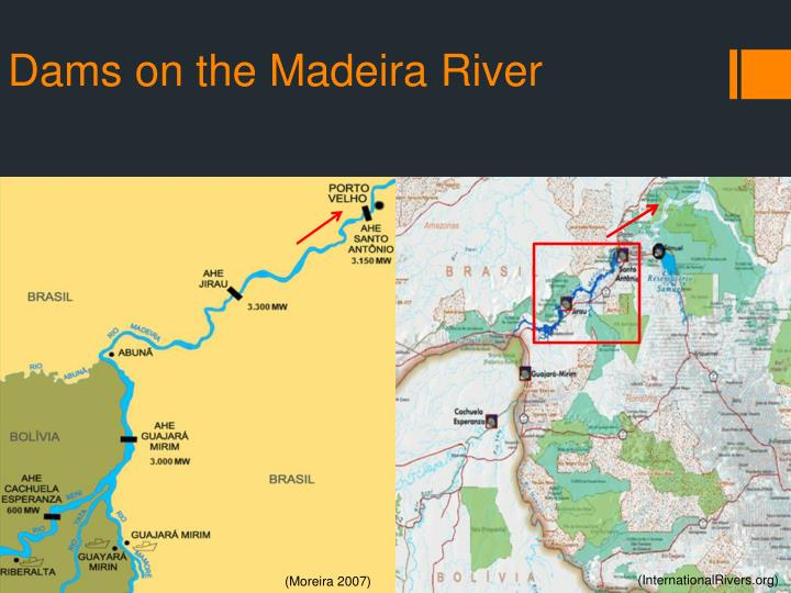 Dams on the Madeira River