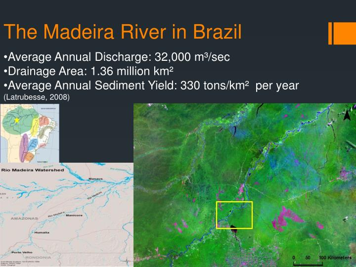 The madeira river in brazil