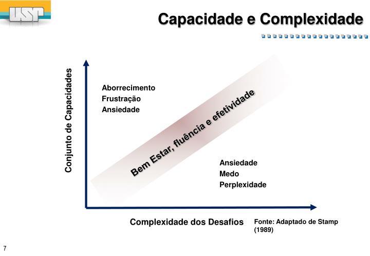 Capacidade e Complexidade