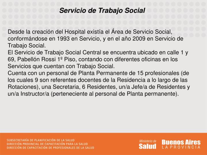 Servicio de Trabajo Social