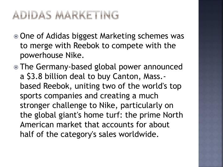 Adidas Marketing