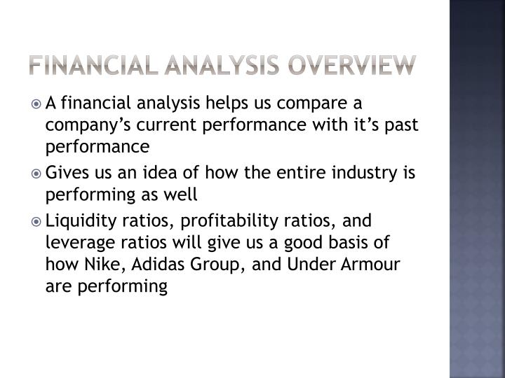 Financial Analysis Overview