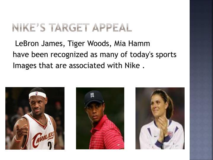 Nike's Target Appeal