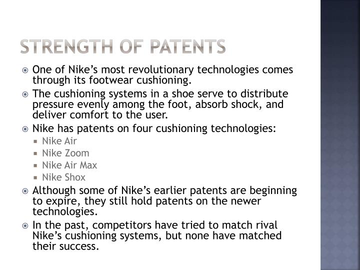 Strength of Patents