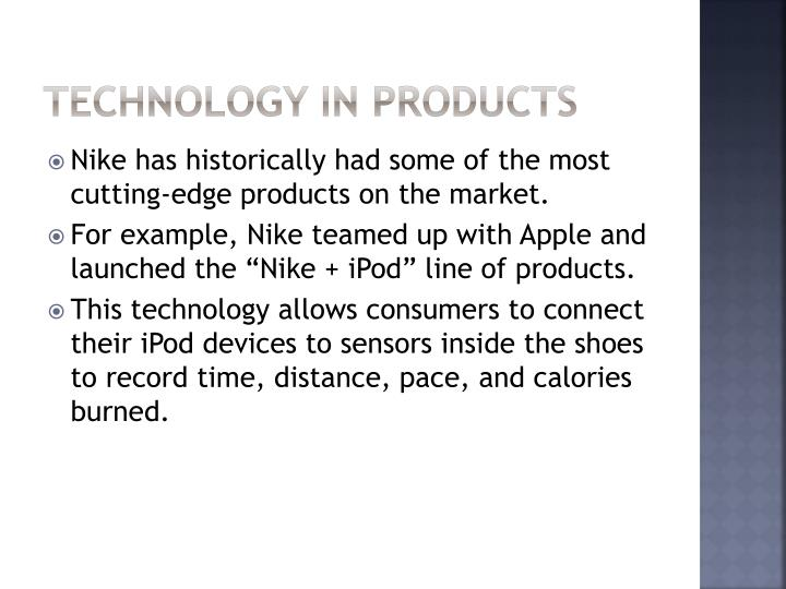 Technology in Products