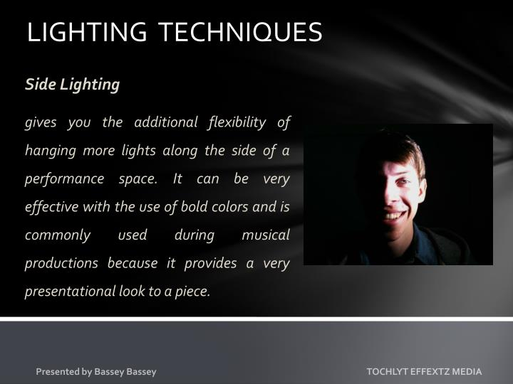 LIGHTING  TECHNIQUES