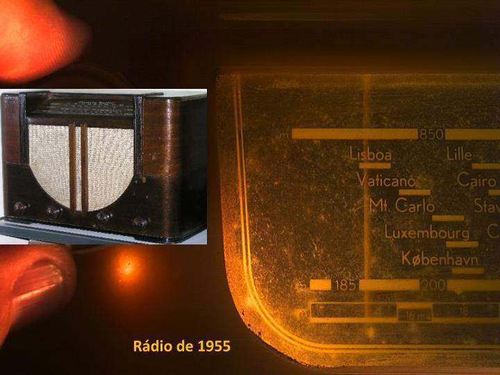 Rádio de 1955