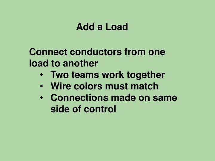 Add a Load