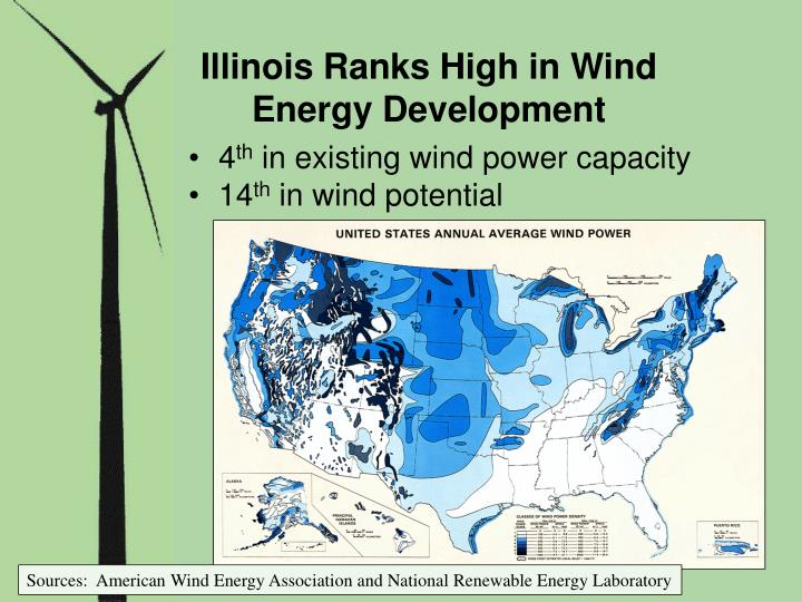 Illinois Ranks High in Wind Energy Development