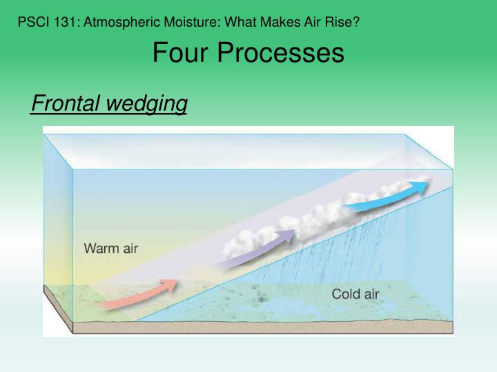 PSCI 131: Atmospheric Moisture: What Makes Air Rise?