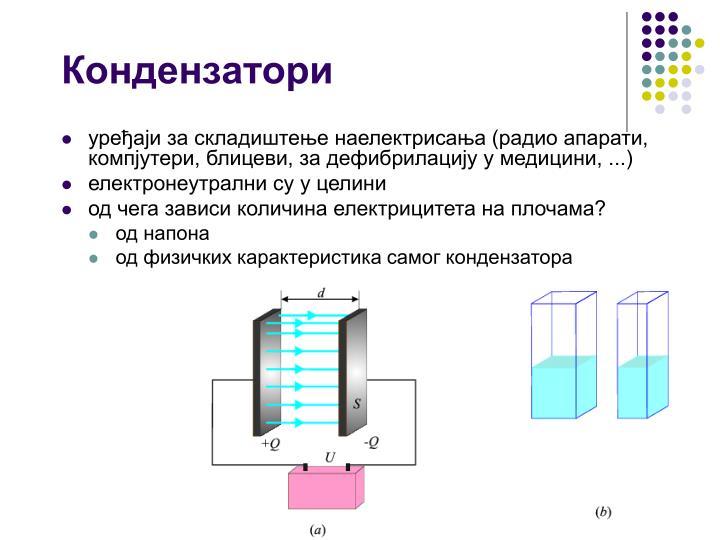 Кондензатори