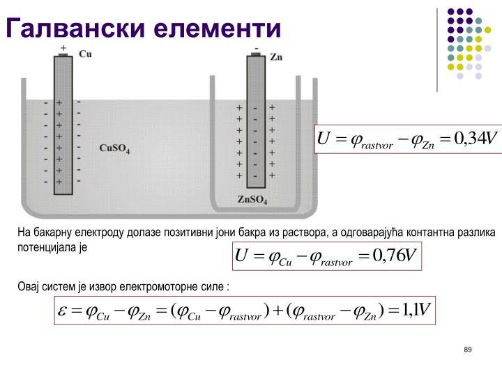 Галвански елементи