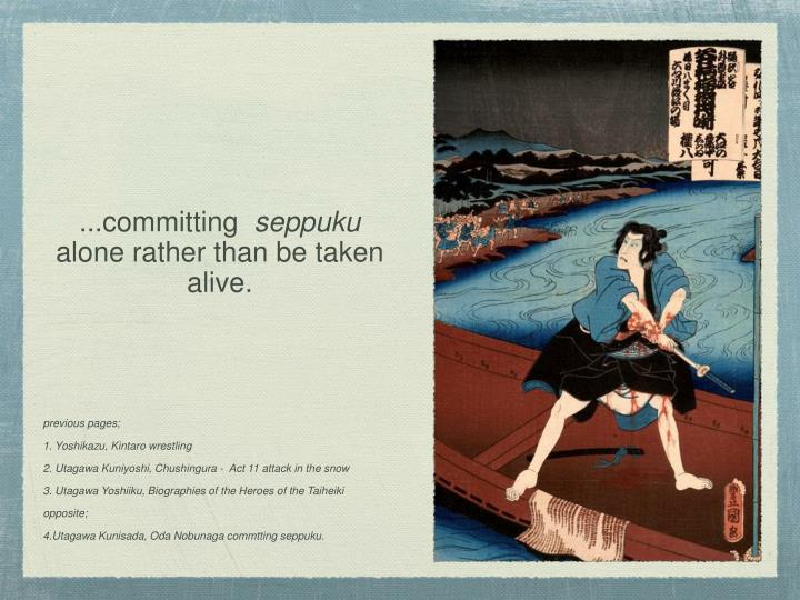 ...committing