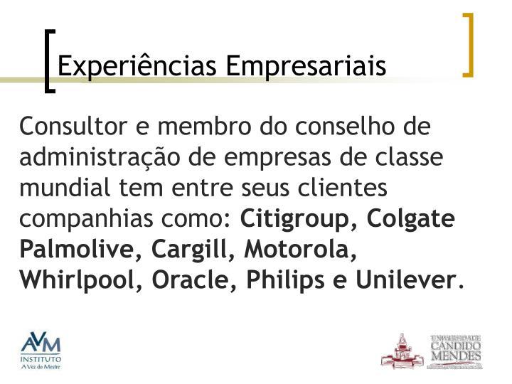 Experiências Empresariais