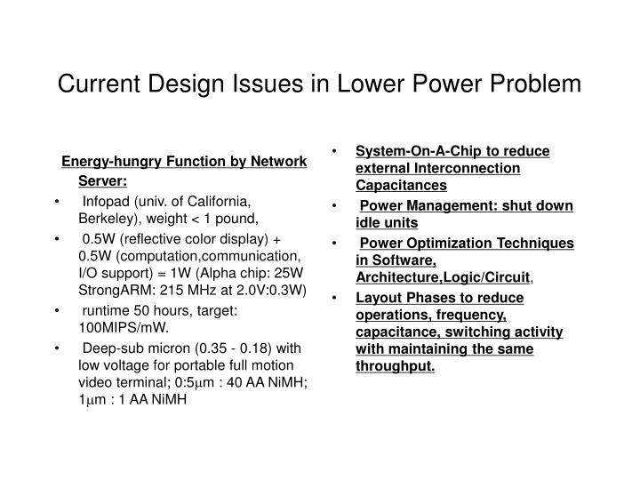 Energy-hungry Function by Network Server: