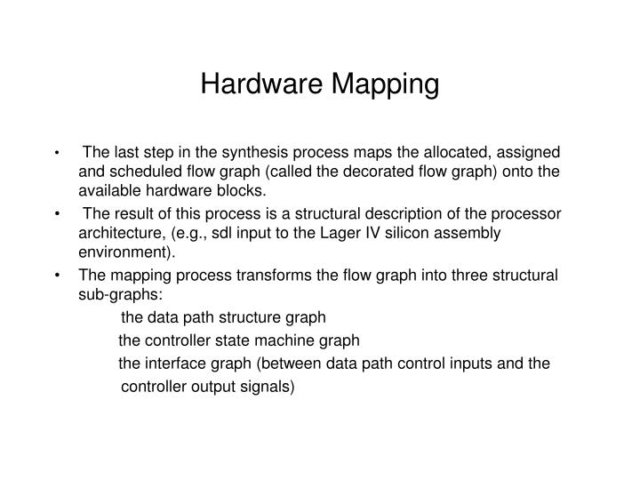 Hardware Mapping
