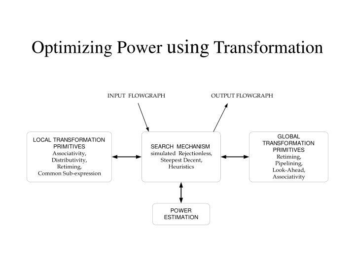 Optimizing Power