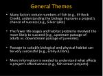 general themes