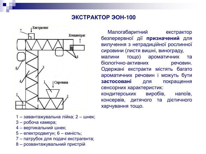 ЭКСТРАКТОР ЭОН-100