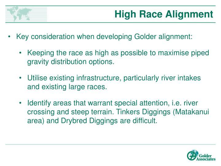 High Race Alignment
