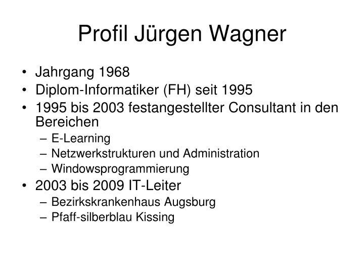 Profil Jürgen Wagner