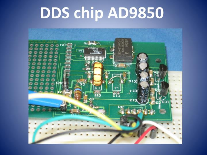DDS chip AD9850
