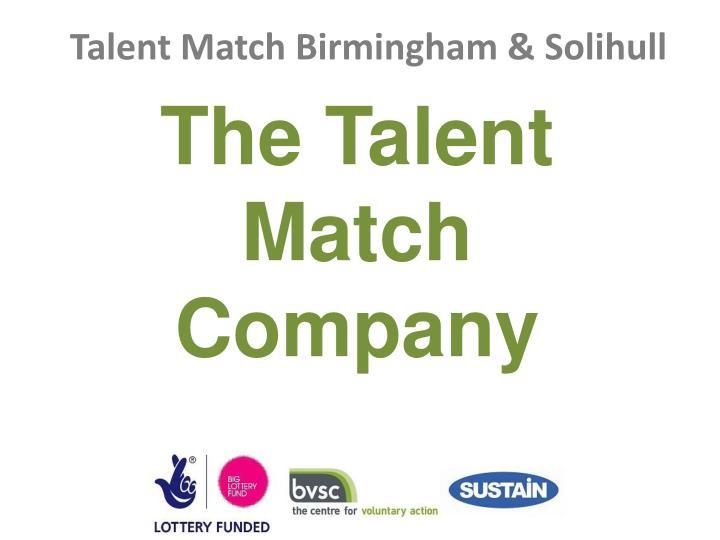The Talent Match Company