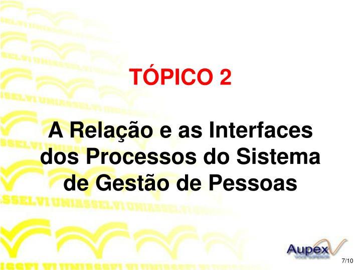 TÓPICO 2