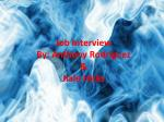 job interview by anthony rodr guez jiale hicks