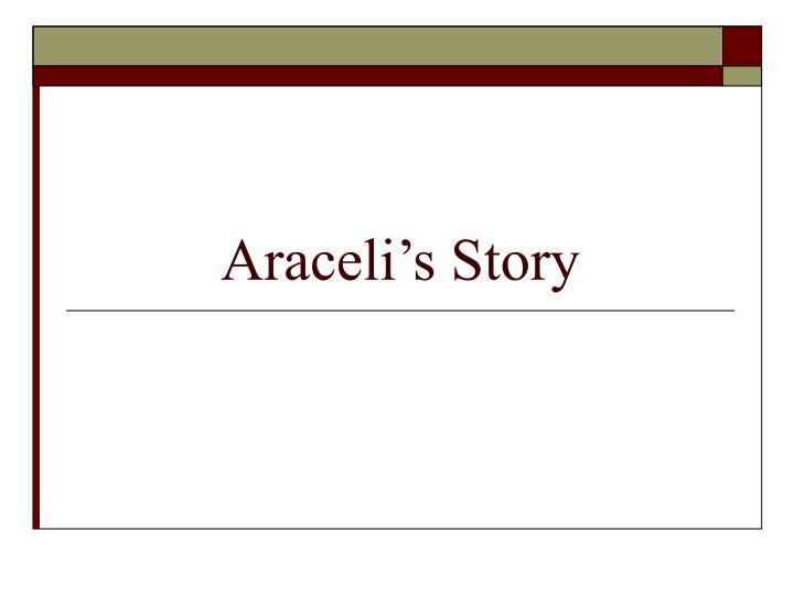 Araceli's Story