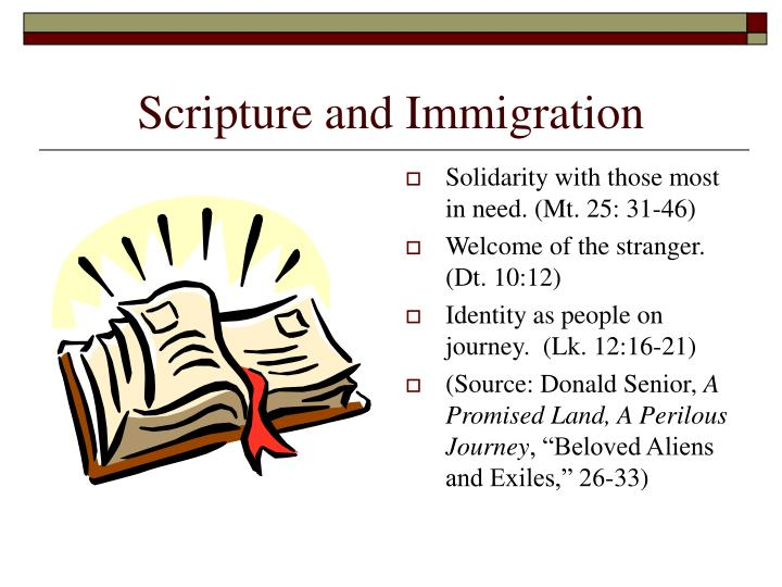 Scripture and Immigration