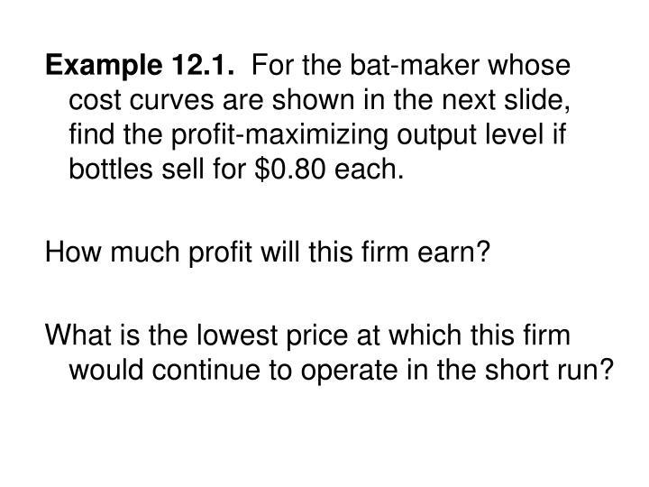 Example 12.1.