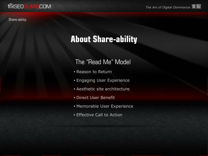 About Share-ability