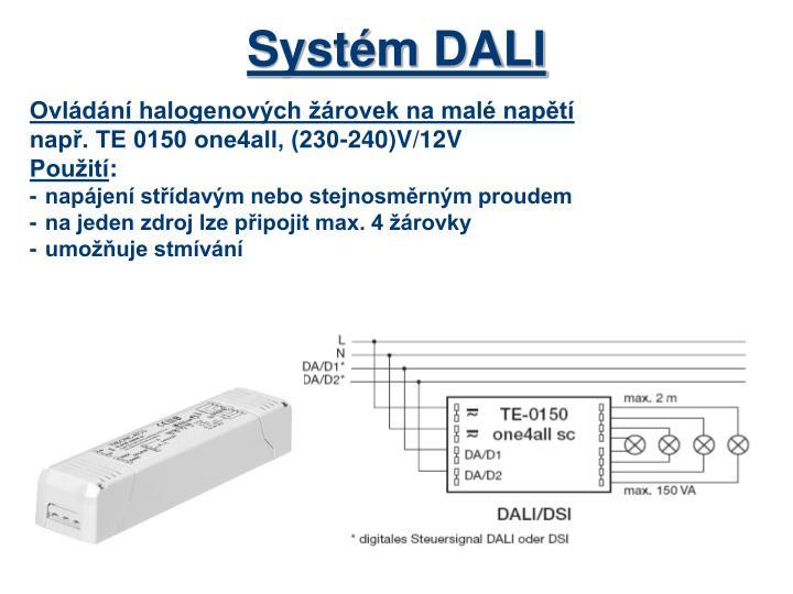 Systém DALI