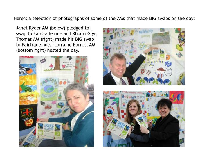 Here's a selection of photographs of some of the AMs that made BIG swaps on the day!