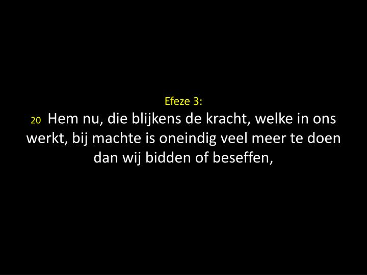 Efeze 3: