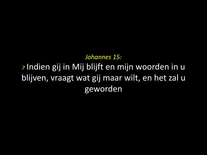 Johannes 15: