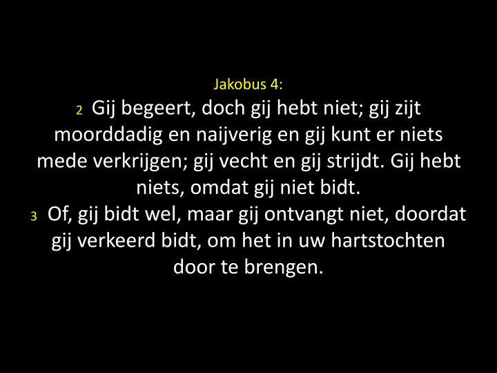 Jakobus 4: