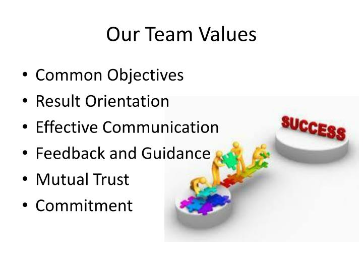 Our Team Values