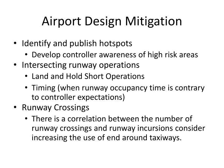 Airport Design Mitigation