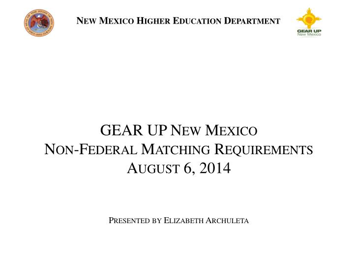 new mexico higher education department