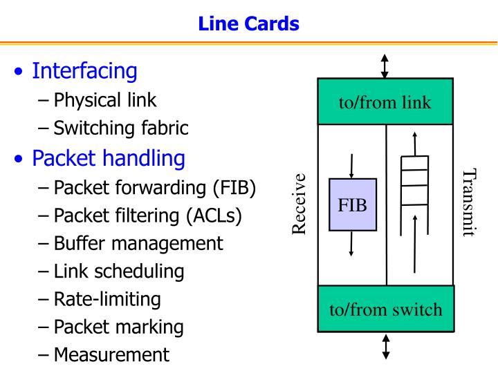 Line Cards