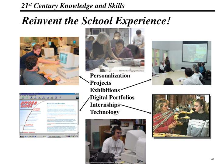 Reinvent the School Experience!