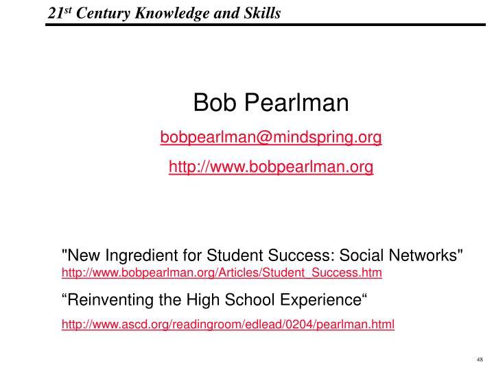 Bob Pearlman