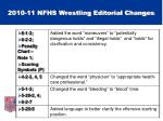 2010 11 nfhs wrestling editorial changes1