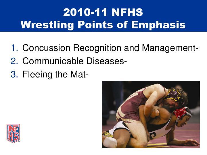 2010-11 NFHS